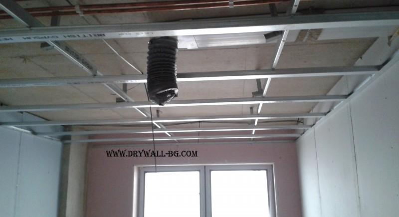Metal Furring or MF ceilings , British gypsum .UK