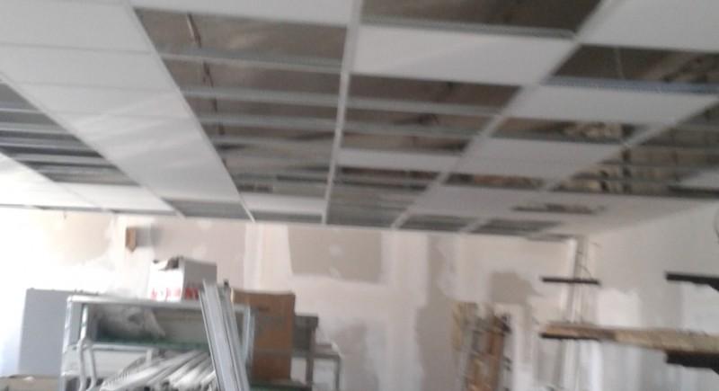 Растерен таван , промишлено предприятие