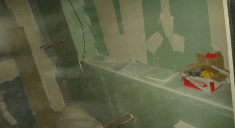 Box , bathroom , plasterboard