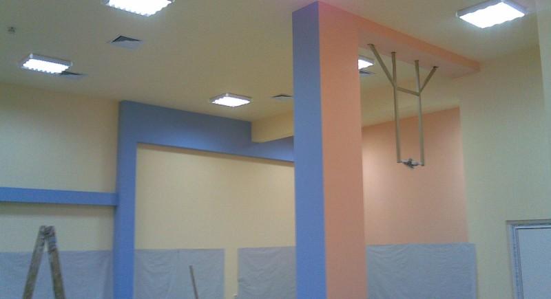 Предстенни обшивки , окачен таван