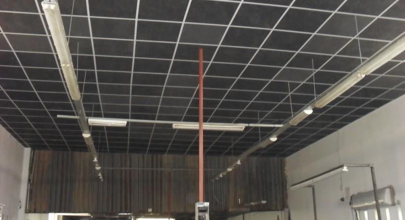 Растерен таван , индустриален цех