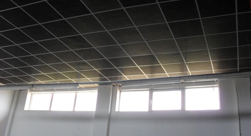 Окачен растерен таван