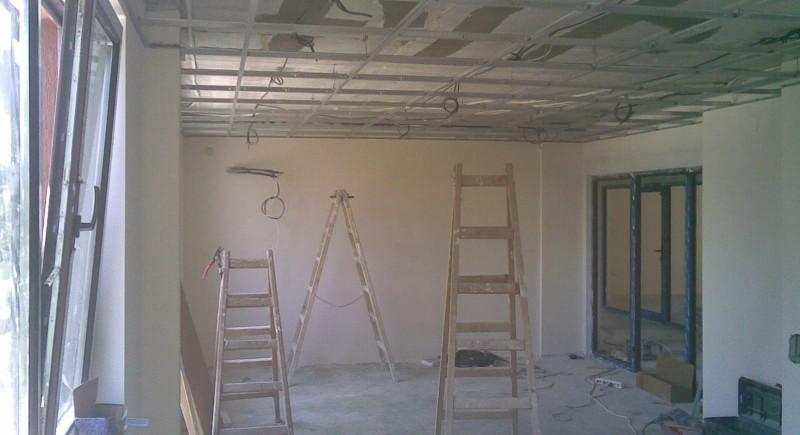 Конструкция  растерен таван USG