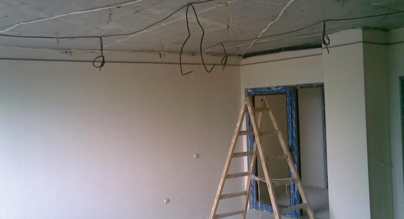 Конструкция окачен таван ,