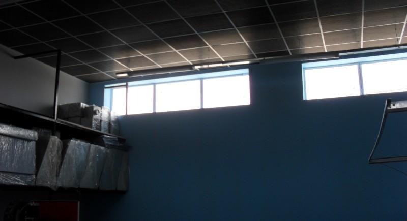 Растерен таван , промишлен цех