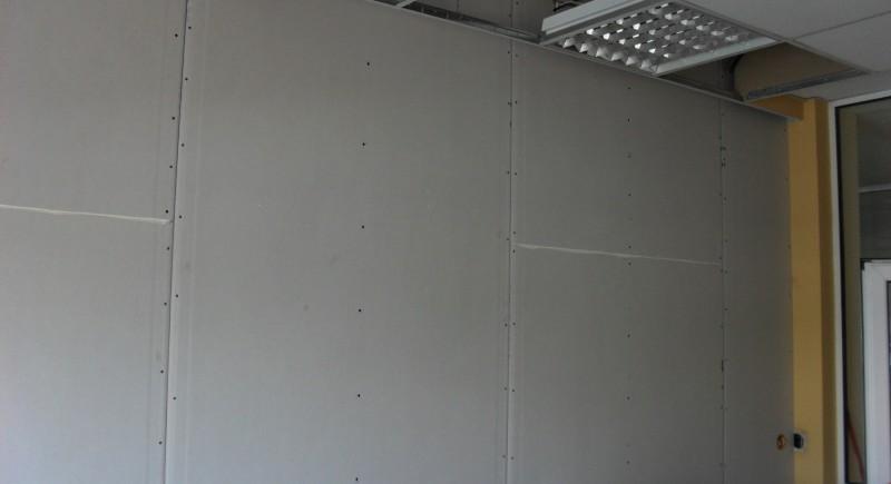 Преградна стена , таван растер